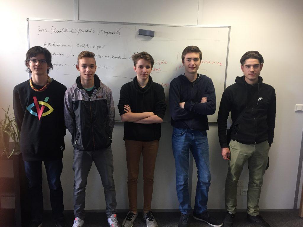 18 élèves chez EDEN School