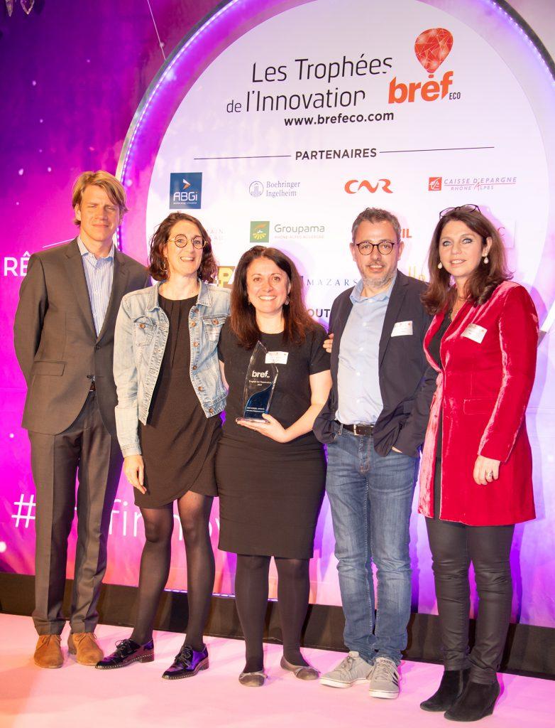 Les trophées de l'innovation Bref Eco Rhône-Alpes